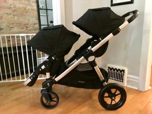 Poussette double Baby Jogger City Select avec accessoires