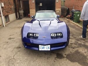1982 corvette rare cross fire injection