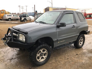 2000 CHEVROLET TRACKER 4 X 4 BUILT BY ZUKI NATION