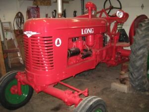 1949 Long Tractor Model A