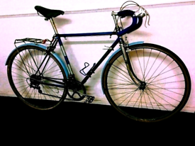 1959 Vintage Classic Dawes Double Blue Racing City Road Bike Bicycle