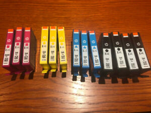 Brand new ink cartridges HP 564