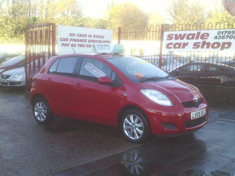 59 Reg Toyota Yaris 1.33 99bhp MMT TR 5 Door Automatic 1 OWNER,£30 TAX,AUTOMATIC