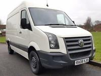 Volkswagen Crafter 2.5TDi ( 109PS ) CR35 MWB + HIGH ROOF + FULL SERVICE HISTORY