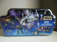 STAR WARS 500 Piece Puzzle NEW in Tin Box 2002 Factory Sealed