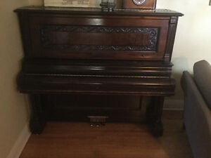 Old vintage piano free for the taking