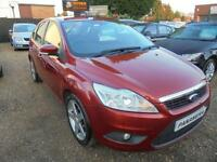 2010 10 FORD FOCUS 1.6 STYLE TDCI 5D 90 BHP 30 YEAR ROAD TAX MODEL .PAY NOTHING