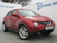 2013 62 Nissan Juke 1.6 DIG-T ( 190ps ) 4WD (AUTO) Tekna for sale in AYRSHRIE