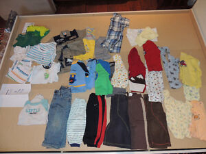 Boy quality clothes at cheap prices-12-18 m-See ad for details