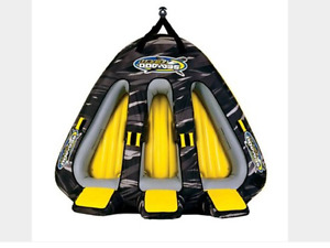 Seadoo 3 person triangle inflatable tube (boating)