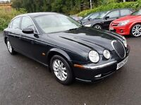 Jaguar S-Type 2.5 V6 SE (black) 2003