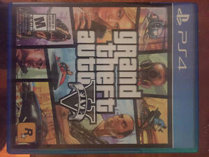 Jeux / games playsation 4 , ps4 , gta v  & more.