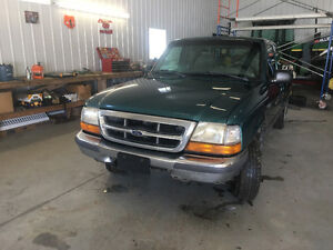 1997 Ford Ranger Green ext cab 2wd 173500 kms