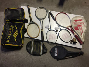 Tennis Rackets + Bag in Great Condition - $$Reduced$$