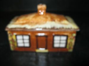 Vintage Price Kensington Cottage Ware Lidded Butter Dish