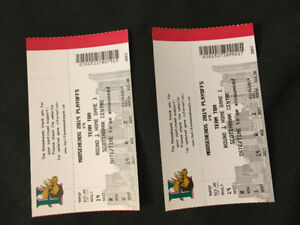 Two Mooseheads Tickets