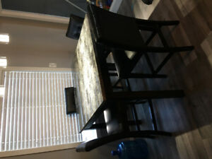 Matching kitchen table set and living room tables
