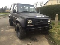 Daihatsu FOURTRAK off road ready