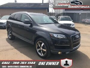 2011 Audi Q7 3.0 TSFI SUPERCAHRGED...ONE OWNER...MINT  - One own