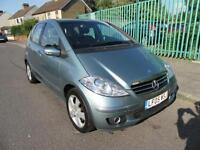 2006 MERCEDES BENZ A CLASS 1.7L LEFT HAND DRIVE MANUAL PETROL 5 DOOR