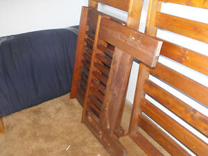 Futon couch frame