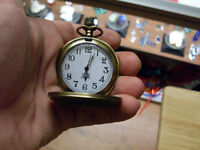 Affordable Pocket Watches in different designs. Quartz movement