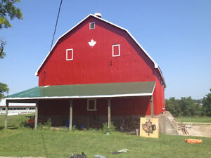 Barn Painting Over 50 years Helping Farmers