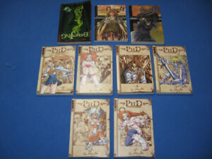 Anime Books - Lot of 9 assorted titles, paperback