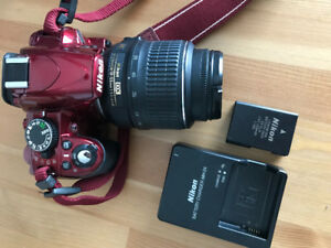 Nikon D3100 Camera with lense - EXCELLENT conditions