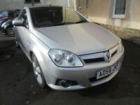 Vauxhall Tigra 1.4i 16v ( a/c ) Exclusiv CONVERTIBLE - 2006 56-REG - FULL MOT