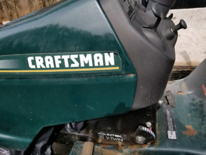 Craftsman tractor with snow blower for sale