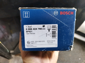 Sharan, Alhambra Bosch front Break pads