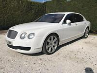 2007 56 BENTLEY CONTINENTAL FLYING SPUR 6.0 FLYING SPUR 5 SEATS 4D AUTO 550 BHP