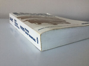 1980 Ford Truck Bronco F150 F250 F350 Econoline Van Shop Manual