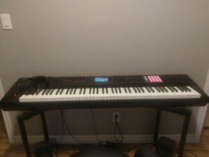 Selling Almost New Roland FA-08 Workstation Keyboard