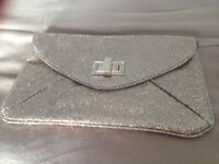 LADIES GOLD CHRISTMAS PARTY BAG CLUTCH BAG £5 ONLY