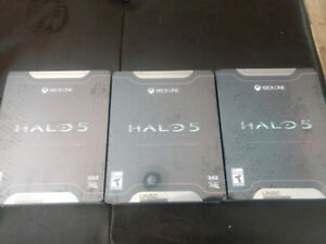 Brand new sealed halo 5 limited edition xbox one
