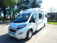2018 18 plate Elddis Majestic 155 4 Berth Fixed Bed Motorhome 4 seat belts