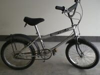 RALEIGH GRIFTER - RARE VINTAGE BIKE - SILVER