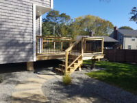 DECK AND FENCE BUILDER / CONSTRUCTION
