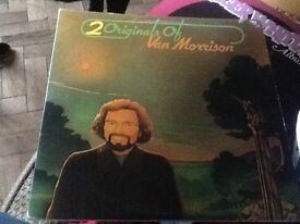 16 LP records including van Morrison, bros, Roger Whittaker and the stranglers only
