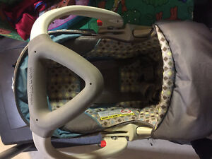 Baby trend carseat with base-$35