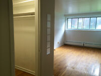 NDG studio, heating/hot water included