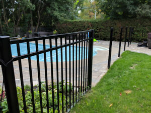 Aluminum Pool Fence 57 Ft.