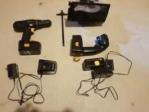 Mastercraft cordless  toolset for sale