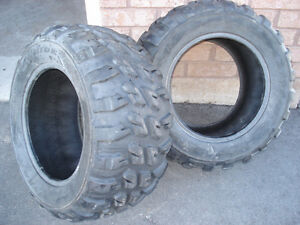 2 good atv tires