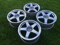 """Genuine Rota 18"""" Alloy Wheels Like New 5x100"""