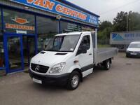 2010 MERCEDES SPRINTER 313 CDI FLAT BED MWB TIPPER DIESEL