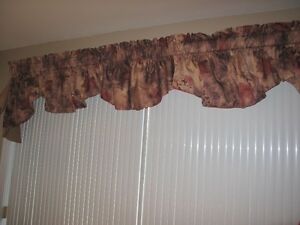 Tringle-pôle & rideau-valence-curtain & rod-rail