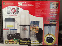 Magic bullet - new still in pack 26 piece deluxe model